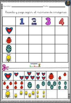 Preschool Learning Activities, Book Activities, Toddler Activities, Preschool Activities, Kindergarten Math Worksheets, Preschool Worksheets, In Kindergarten, Early Years Maths, Speech Therapy Games