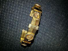 Bracelet fil d'alu