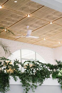 F&B — HUI DESIGNS Bauhaus Architecture, Interior Architecture, Terracotta Floor, Parisian Cafe, Tulip Table, Ceiling Treatments, Ceiling Detail, Ceiling Panels, Design Strategy