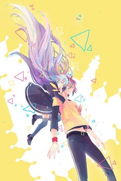 Shiro & Sora discovered by ムーン on We Heart It - grafika anime, sora, and no game no life - Shiro, Manga Kawaii, Manga Anime, Anime Art, Otaku Anime, Zero Wallpaper, Wallpaper Aesthetic, Unique Wallpaper, Nogame No Life