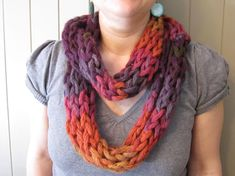 Looking for knitting project inspiration? Check out Finger's  Knitten Round Scraft by member Annie FousDArt.