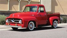 1955 Ford F100 Custom Cab Pickup