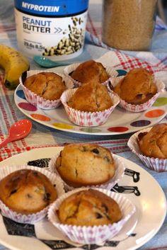 Mes muffins au beurre de cacahuètes - Fille à fitness
