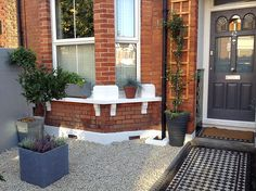 The Distinctive Gardener transforms a typical London terraced front garden, tackling the issue of storage, in only 3 days Garden Solutions, Gardening Services, Contemporary Garden, West London, Terrace, Patio, Storage, Outdoor Decor, Home Decor
