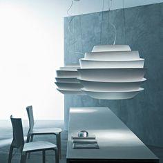 Foscarini Le Soleil Sospensione Pendelleuchte 820,  Pendelleuchten Design,  Pendelleuchten Esszimmer, Esszimmer Ideen