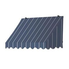 Awnings in a Box 4 ft. Traditional Manually Retractable Awning in. Projection) in Tuxedo - 3020721 - The Home Depot Shop Awning, Caravan Awnings, Advantages Of Solar Energy, Window Awnings, Retractable Awning, Door Canopy, Front Door Colors, Front Doors, Traditional Fabric