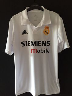 45f47580a39 2002 03 Real Madrid Home. Real Madrid Home. Classic Football Jersey · Stuff  to Buy