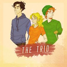 """Percy Jackson & the Olympians/The Heroes of Olympus: Percy, Annabeth & Grover """"Camp Half-Blood"""""""