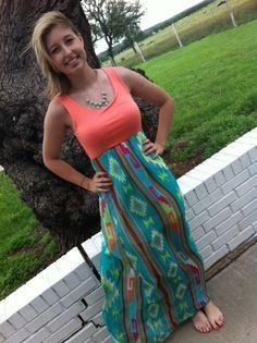 DIY Tank Top Maxi Dress | Sew many patterns.. | Pinterest | Diy ...