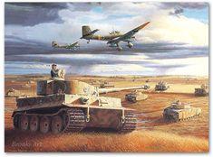 Wittmann's Tiger at Kursk