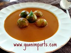 Goan Curry with Brussels Sprouts