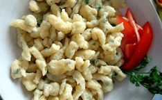 Snack Recipes, Healthy Recipes, Snacks, Czech Recipes, Ethnic Recipes, Gnocchi, Dumplings, Pasta Salad, Cauliflower