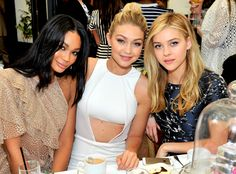 Chanel Iman, Gigi Hadid, Nicola Peltz from Party Pics: 2015 Golden Globes | E! Online