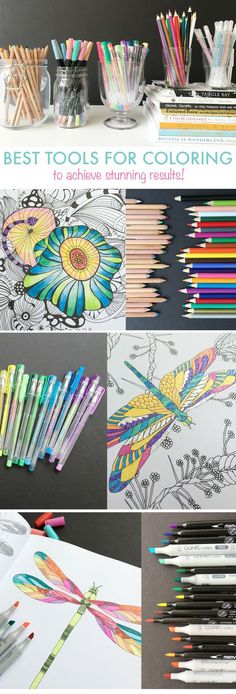 Learn the best tools, tips and tricks for coloring! Looking for a fun coloring book and a few pointers? We have them for you! Pin now, read later.
