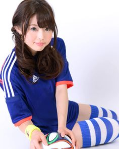 松下侑衣花さん | サッカー日本代表ユニフォーム