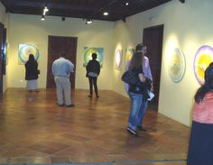 Exposición Serie GirasoLuz en Casa del Vino del Sauzal (Tenerife) · 2010