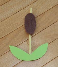 Toddler Art, Toddler Crafts, Crafts For Kids, Pond Crafts, Nature Crafts, Insect Crafts, Pond Habitat, Pond Animals, Barn Wood Crafts