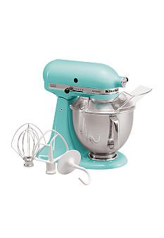 Always wanted one, and I love the retro teal color! KitchenAid® Artisan Stand Mixer KSM150PSCU
