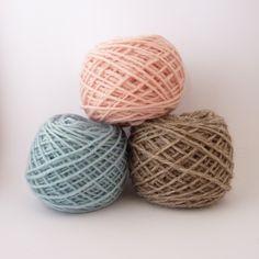 assortiment de laines pour poupée Mlle Angèle Dimanche / c'est dimanche