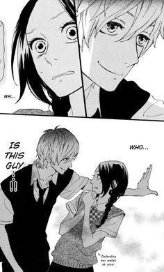 Hirunaka no Ryuusei • Manga