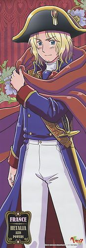 Hetalia Axis Powers poster official France