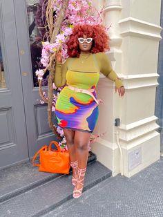 Black Girl Fashion, Curvy Fashion, Plus Size Fashion, Girl Outfits, Cute Outfits, Fashion Outfits, Womens Fashion, Spring Outfits, Fashion Ideas
