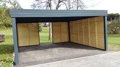 canopy Car Canopy, Garage Doors, Outdoor Decor, Home Decor, Decoration Home, Room Decor, Home Interior Design, Carriage Doors, Home Decoration