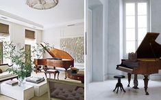 | Ideas para decorar con pianos de cola
