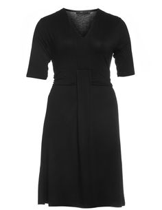 Jersey dress with waistband - Shop Dresses at navabi. Shop for Dresses at navabi.