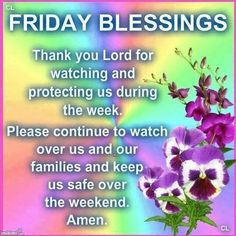 Friday Blessings Thank You Lord friday happy friday tgif good morning friday…
