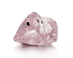 The Williamson Pink, Petra Diamonds discovered a rare pink stone at its Williamson mine in Tanzania, Rare Gemstones, Minerals And Gemstones, Crystals Minerals, Rocks And Minerals, Stones And Crystals, Diamond Mines, Rough Diamond, Diamond Image, Rocks And Gems
