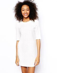 Vero Moda Textured Shift Dress