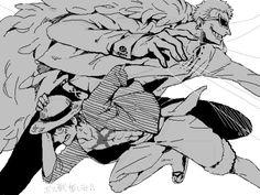 Luffy Doflamingo
