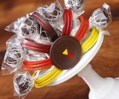 DIY Turkey Cake Pop Holder by HCP Easy Roller