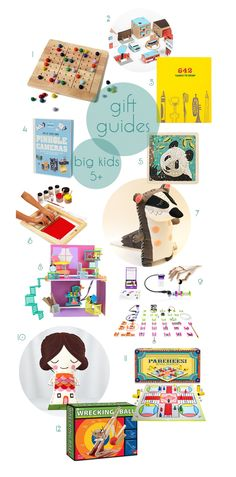 Top 12 Best Toys for Kids over 5 years old - Tween Gift Guides for the holidays - SmallforBig.com #toys #gifts #kids