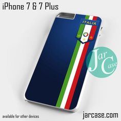 Italy footbal crest Phone case for iPhone 7 and 7 Plus