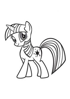 Learn How to Draw Twilight Sparkle from My Little Pony: Friendship Is Magic (My Little Pony: Friendship Is Magic) Step by Step : Drawing Tutorials My Little Pony Coloring, My Little Pony Cartoon, My Little Pony Twilight, My Little Pony Drawing, My Lil Pony, Unicorn Coloring Pages, Cool Coloring Pages, Cartoon Coloring Pages, Disney Coloring Pages