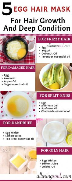 Egg is the boon for dry, frizzy and damaged hair. Eggs can make your hair soft, shiny and manageable and also helps in hair growth. hair mask for damaged hair diy deep conditioner Egg Mask, Egg Hair Mask, Hair Mask For Damaged Hair, Oily Hair, Frizzy Hair, Long Curly Hair, Curly Hair Styles, Natural Hair Styles, Hair Masks