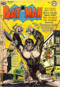 A cover gallery for the comic book Batman Batman Comic Books, Batman Comics, Comic Art, Old Comics, Dc Comics Art, Vintage Comic Books, Vintage Comics, Robin Comics, Silver Age Comics