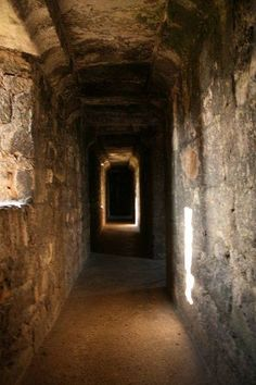 Caernarfon Castle Passageway within the south wall of the castle