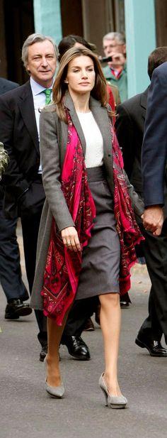 Letizia - Oversize scarf                                                                                                                                                                                 Más