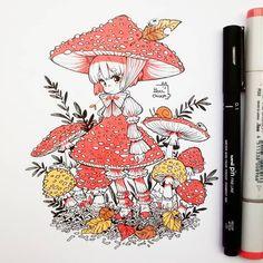 Learn To Draw Manga - Drawing On Demand Dark Drawings, Kpop Drawings, Amazing Drawings, Beautiful Drawings, Cute Drawings, Anime Art Girl, Manga Art, Manga Drawing, Copic Art