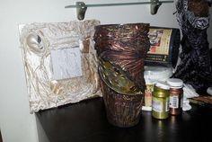 Декорируем вазу тканью и монетами - Ярмарка Мастеров - ручная работа, handmade