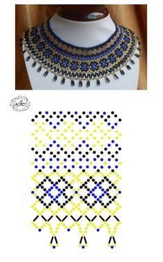 Natali Khovalko Beaded Jewelry Designs, Seed Bead Jewelry, Bead Jewellery, Beading Tutorials, Beading Patterns, Diy Necklace Patterns, Handmade Beads, Bead Crochet, Loom Beading