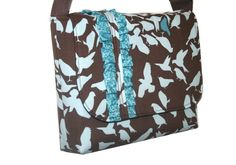 cute messenger bag/diaper bag