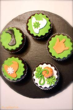 Halloween-Cupcakes, vegan @muc.veg