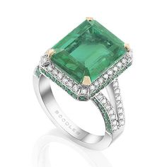 """""""We think this rather spectacular #emerald would help us through any Monday morning blues.http://t.co/2Hy6c0iNwl"""""""