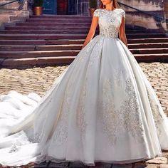 White wedding dress 😍