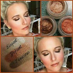 Pumpkin Spice Splurge Cream Shadow #Eyeshadow #CreamShadow #FallEyeshadow #FallEyelooks