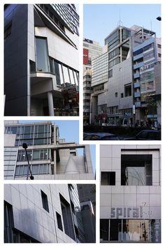 Spiral Shibuya, Tokyo 1985 Fumihiko Maki JapArch, photo by Hubert Roguski